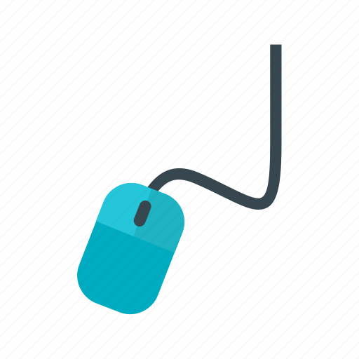 cable, computer, connection, gray, hand, mouse icon