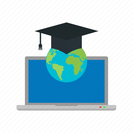 computer, friends, global, group, internet, students, technology icon