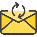 change, communication, email, letter, mail icon