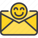 communication, email, good, letter, mail icon