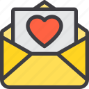 communication, email, letter, love, mail, paper icon