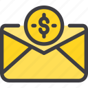 communication, email, letter, mail, marketing icon