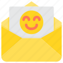 communication, email, good, letter, mail, paper icon