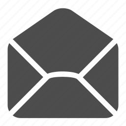 email, empty, envelope, letter, mail, open, receive icon