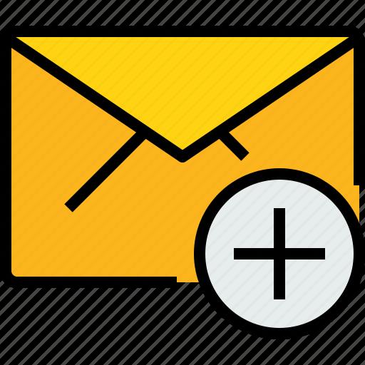 add, address, communication, e, information, mail, mailbox icon