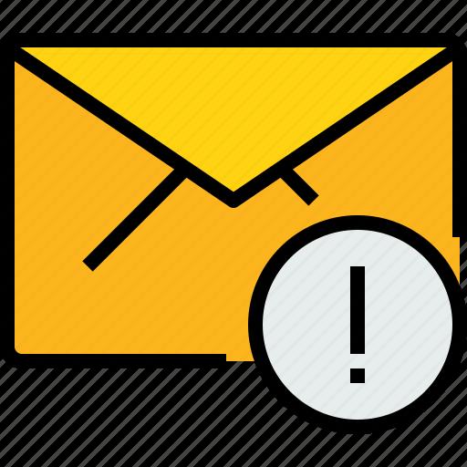 address, alram, communication, e, information, mail, mailbox icon