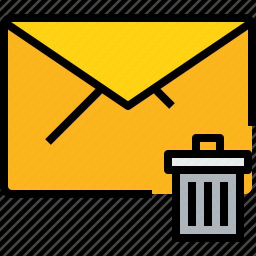 address, bin, communication, e, information, mail, mailbox icon