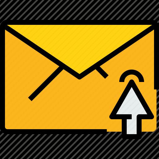 address, click, communication, e, information, mail, mailbox icon
