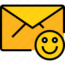 address, communication, e, good, information, mail, mailbox icon