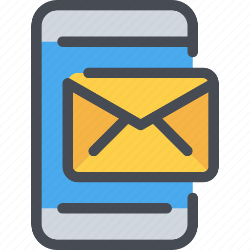 Communication, letter, mail, message, smartphone icon - Download on Iconfinder