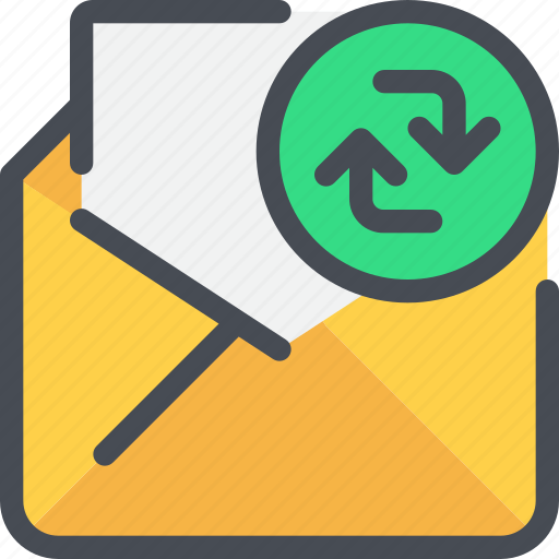 communication, email, exchange, letter, mail, message icon