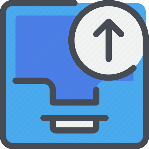 Arrow, box, communication, letter, message icon - Download on Iconfinder