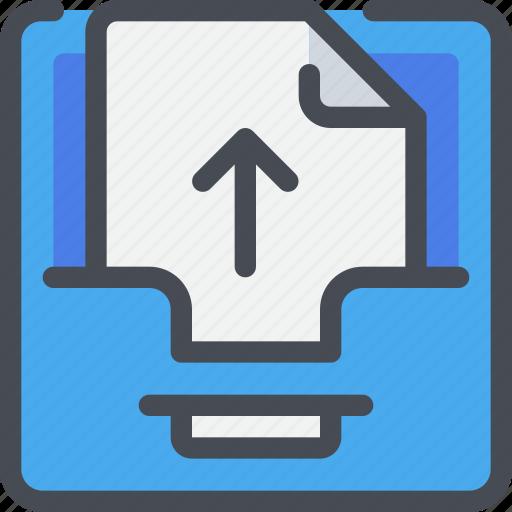 box, communication, file, letter, message icon