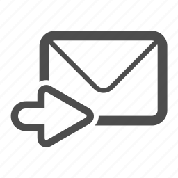 email, envelope, letter, mail, send, stamp icon