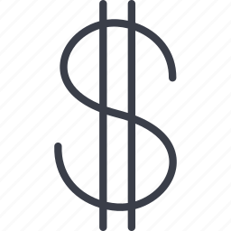 dollar, e-money, finance, money icon