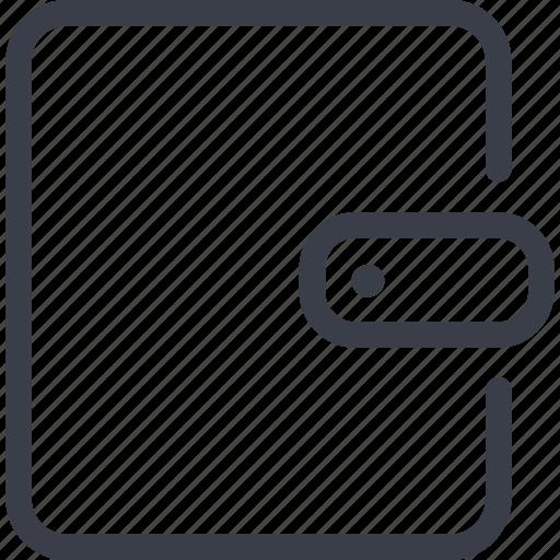 cash, e-money, money, purse icon