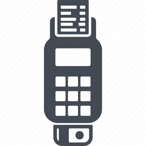 cash terminal, e-money, pay, payment, terminal icon