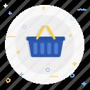 basket, shop icon