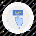 buy, hand icon