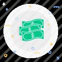 bank, cash, money icon