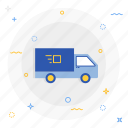 bus, shipping, transport icon
