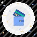 credit, purse, wallet icon