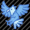 eagle, hawk, bird, animal, kingdom, falcon