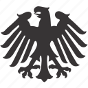 arms, eagle, emblem icon