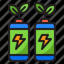 battery, power, energy, green, plant