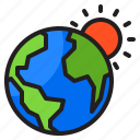 earth, world, global, sun, planet