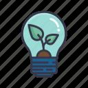ecology, light, bulb, environment, eco, energy