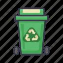 recycle, bin, trash, garbage, ecology, environment