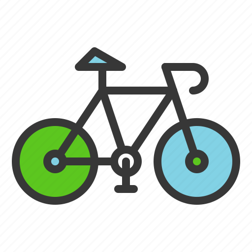 bicycle, earth day, environmental protection, green, green transportation, save energy icon