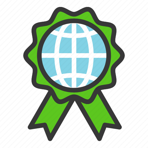 badge, earth day, ecology, environmental protection, green icon