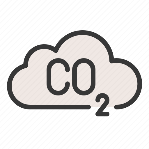carbon monoxide, co2, earth day, ecology, environmental protection, poisoning icon