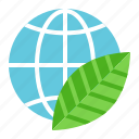 earth day, ecology, environmental protection, green icon