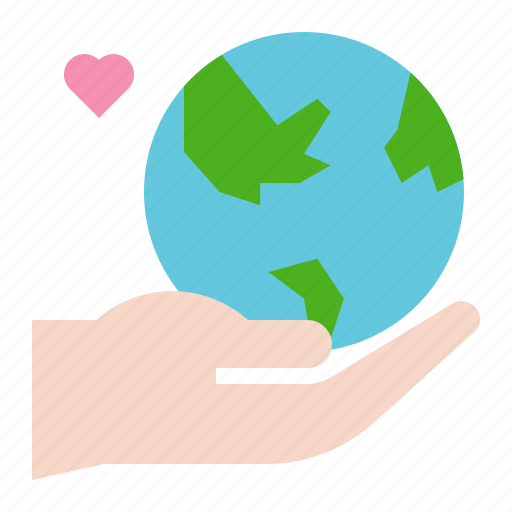 earth day, ecology, environmental protection, globe, green, hand, world icon