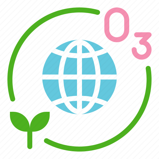 earth day, ecology, environmental protection, green, ozone, planting icon