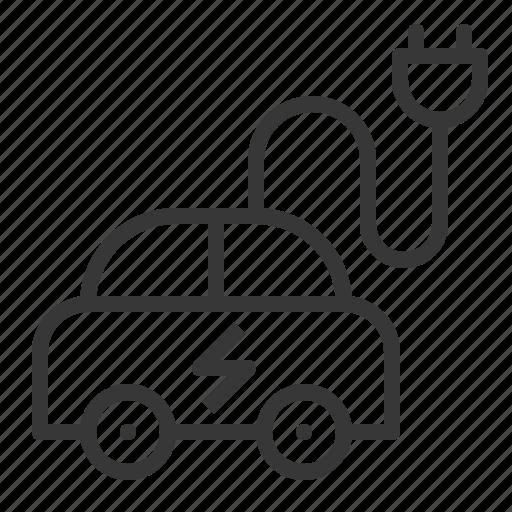 earth day, ecology, electric car, environment, environmental protection, green icon