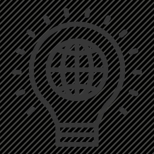 Ecology, light, earth day, environment, green, environmental protection, light bulb icon