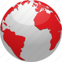 earth, ecology, environment, globe, map, planet icon