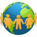 planet, community, ecology, environment, globe, people, earth