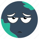 earth, expressions icon