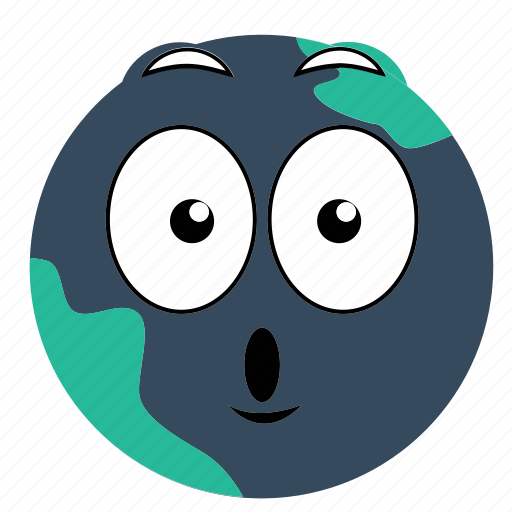 Earth, excited, expressions icon - Download on Iconfinder