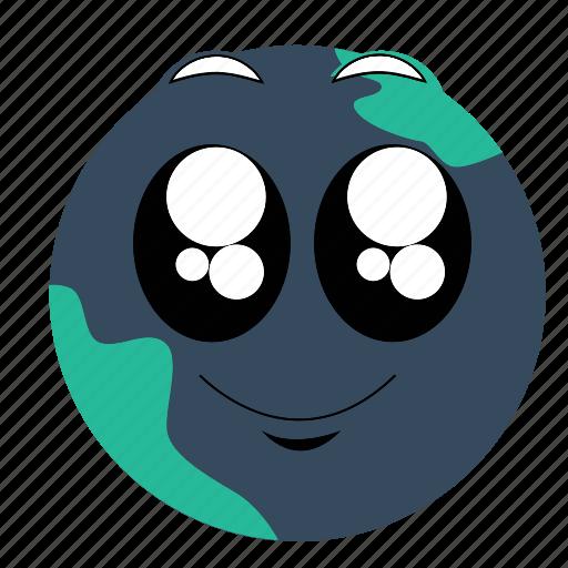 earth, expressions, sad icon