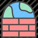 firewall, network, shield icon