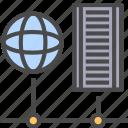internet, network, server icon