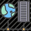 computer, internet, network, server icon