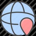 location, network location, network position icon