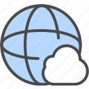 cloud, cloud internet, cloud network icon
